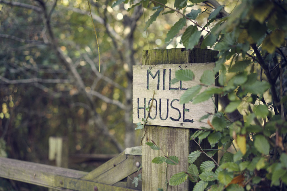The original Mill House sign