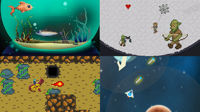 Concepts & in-development - We release and continue to grow a number of young game projects, always using sustainable* practices.A few of them can be viewed from a safe distance on itch.io.