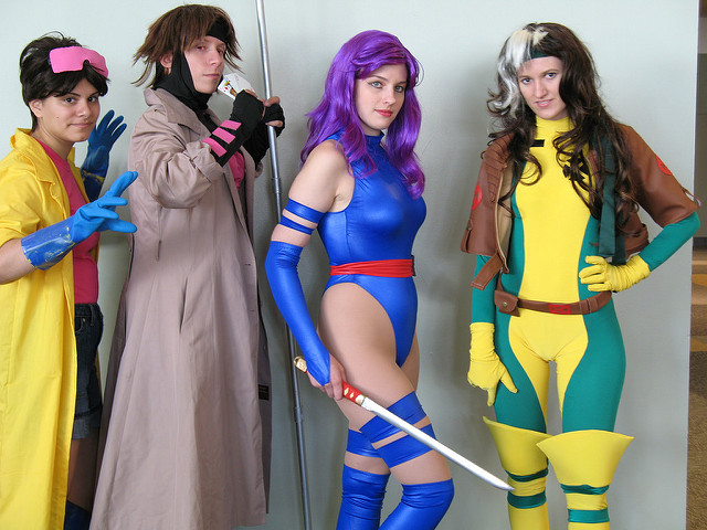These four X-Men cosplayers look really great together!