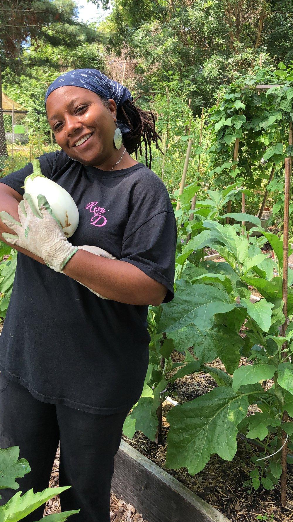 Master Gardener Monique Perry