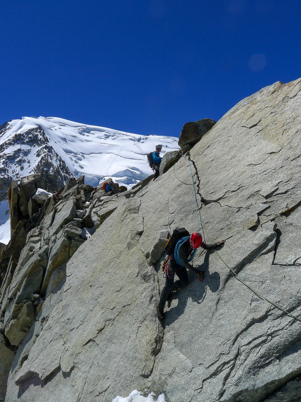 Putting Alpine skills to the test on the Arete Laurence