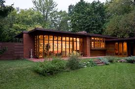 The first Usonian - The Jacobs House, Madison WI - 1936