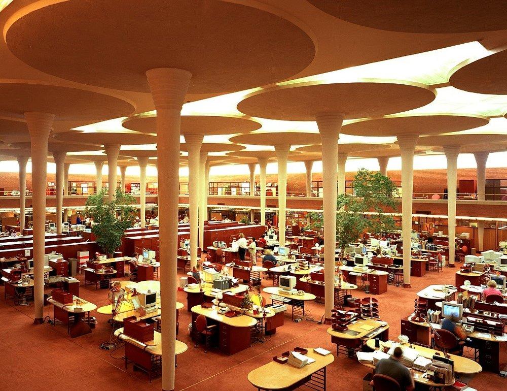 Johnson Wax Administration Building – Racine, WI 1939