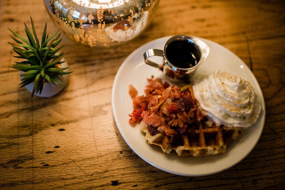 Belgian Bacon Waffle