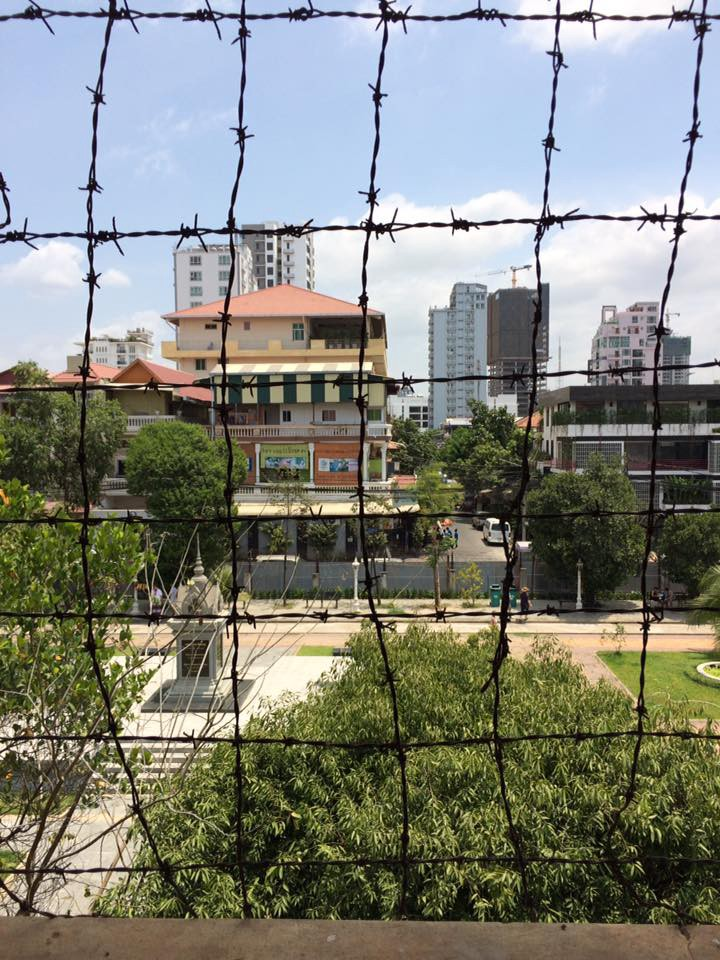 The barbed wire guarded against the final escape of suicide.