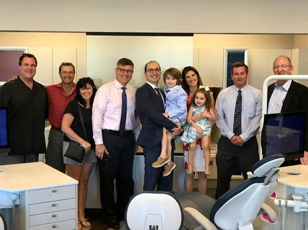 Grand Opening of   Band & Wire Orthodontics   with Village Officials over the summer!   433 Ogden Avenue in Clarendon Hills, 630-320-8888