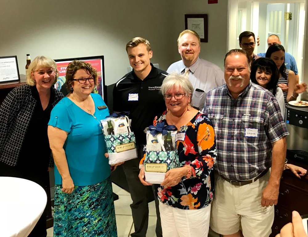 The Clarendon Hills Bank held our last after hours in August! This was a multi Chamber event was with the Westmont Chamber.  What a awesome event it was!