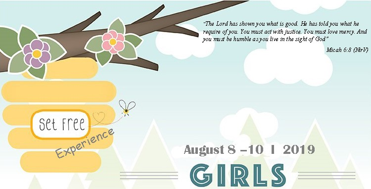 A young girls missions camp experience For girls who have completed grades 1 - 6