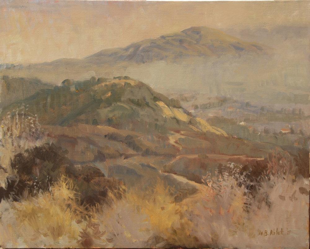 Franklin Trail, oil, Meredith Abbott