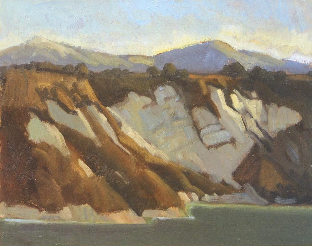Cachuma Lake, oil, Whitney Abbott