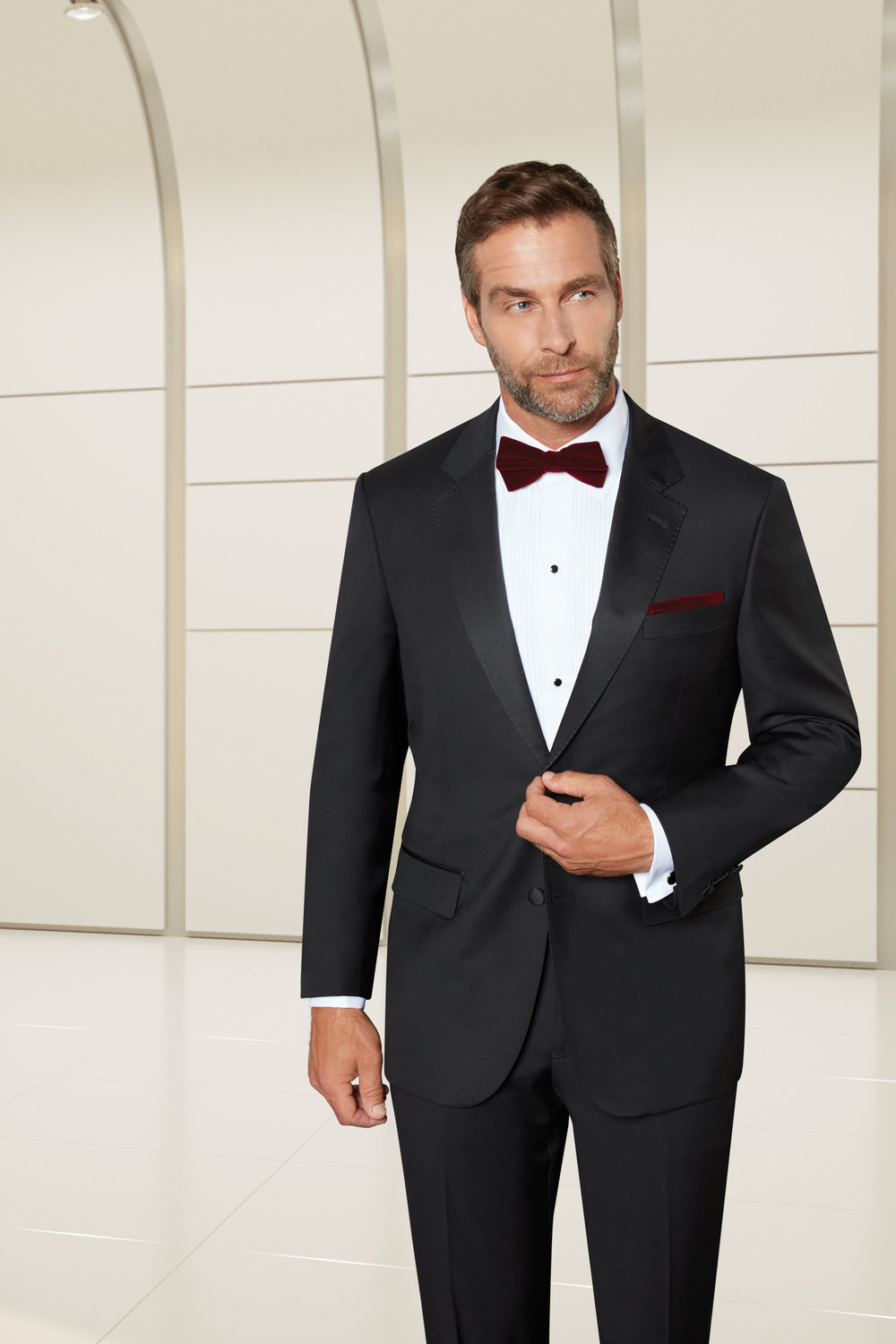 BA TUXEDO - 2-BUTTON NOTCH LAPEL