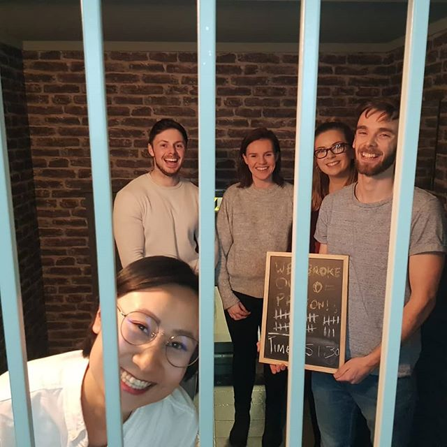 Two escapes for this group from @facebookdublin  Book your corporate event now at www.endgame.ie! 🔪