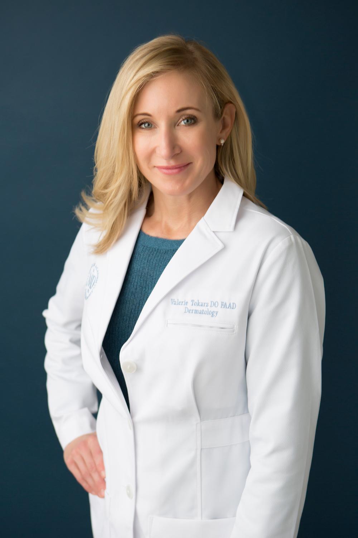 Valerie Tokarz, female board certified dermatologist east greenwich RI, near me