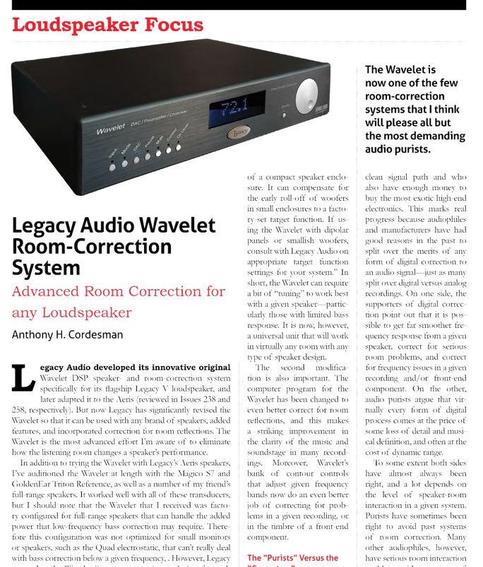 Legacy Wavelet Review