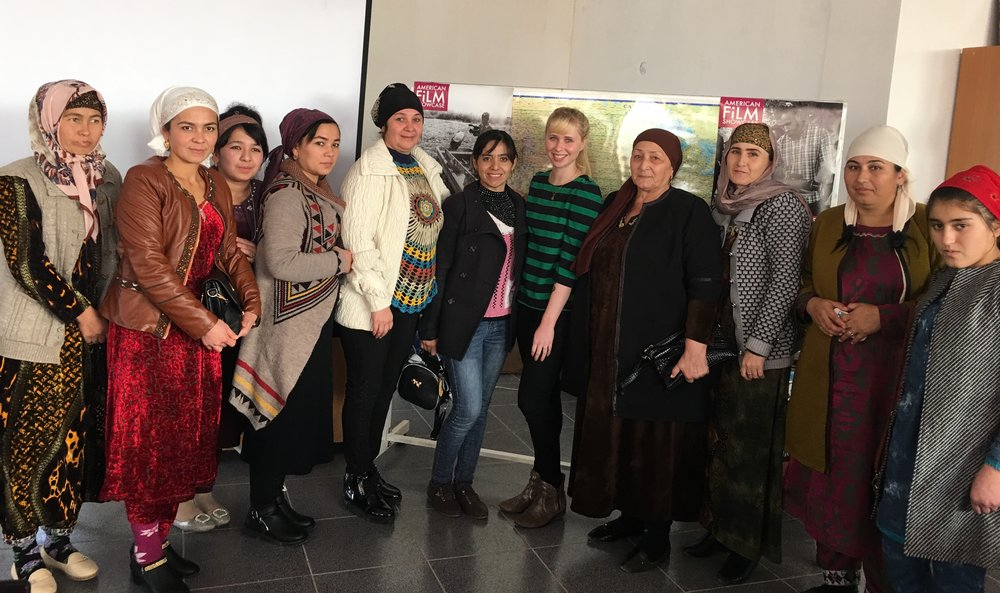 Female entrepreneurs in Qurghonteppa.