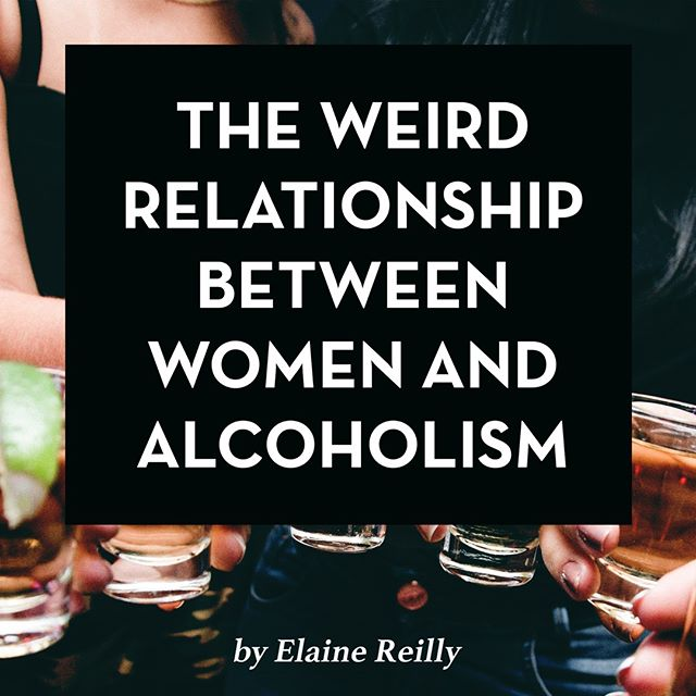 """""""Typically when we think of alcoholism, we think of how it's embodied in men. Alcoholism is associated with character traits like a short temper, extreme belligerence, and a lack of respect for other people and their boundaries — traits which are a common part of toxic masculinity. However, alcoholism affects women in ways that aren't always talked about, both as victims of the out-of-control drinking of others and as subjects of alcoholism in ways that don't meet the common narrative."""" Read more about 'The Weird Relationship Between Women and Alcoholism' By Elaine Reilly only at feministwednesday.com  #feminist #womeninfilm #feminism #timesup #metoo #feministaf #feministwednesday #vivalabeaver #girlboss #letsgo #bettythebeaver #wednesdayvibes #mybodymychoice #feminista #getitgirl #whorinstheworld #beavertalk #resist #wcw #humpday #girlpower #empowerment #wedinspo #wednesday #slayallday #woot #letsgogirls #nyc #brooklyn #girlsrule"""