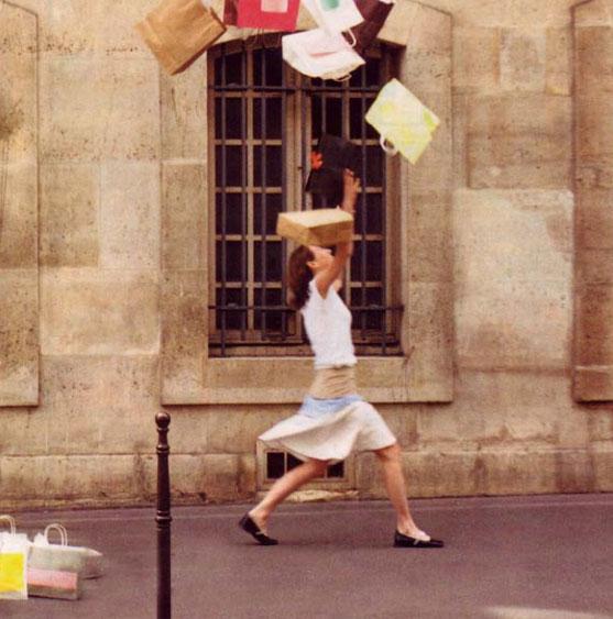 COTTAGE LIVING MAGAZINE - COTTAGE SHOPPING IN PARIS