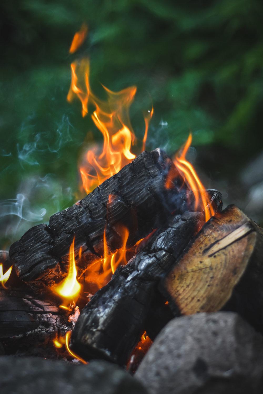James' fire