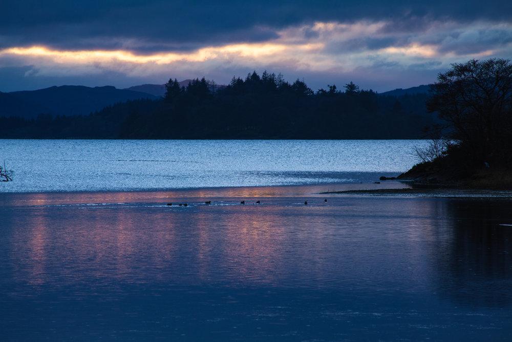 Loch Awe at Dusk