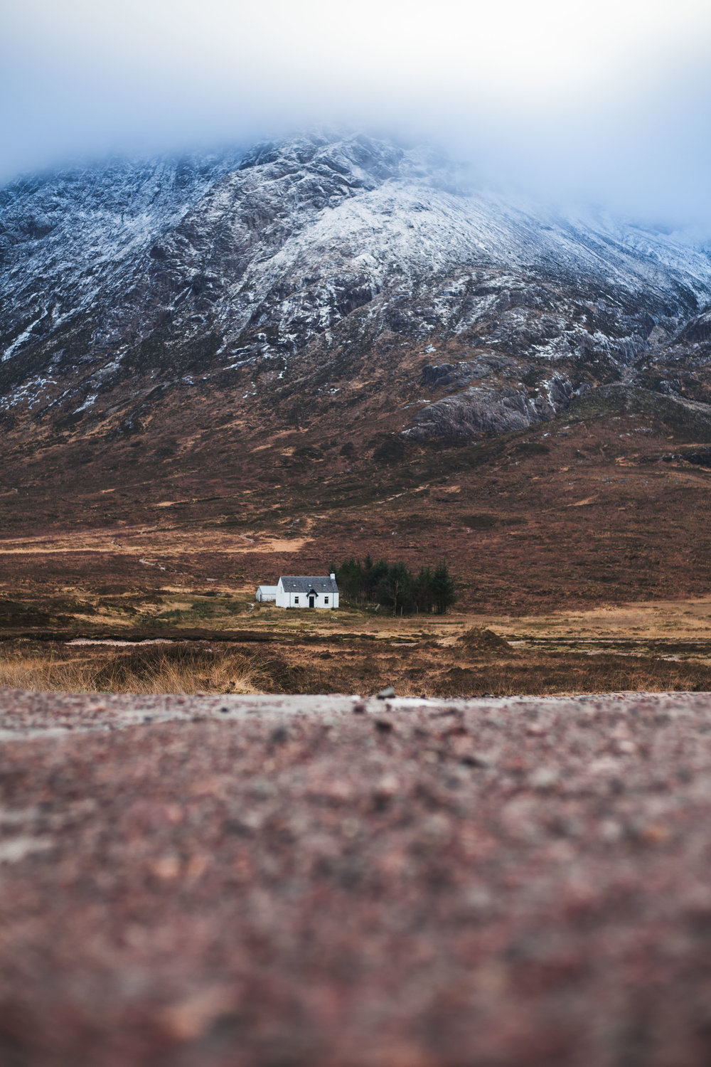 Can't ever go to Glen Coe and not get a picture of 'the house'