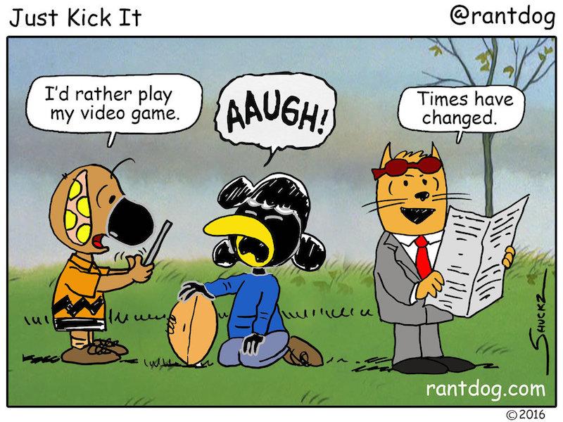 Rantdog Charlie Brown