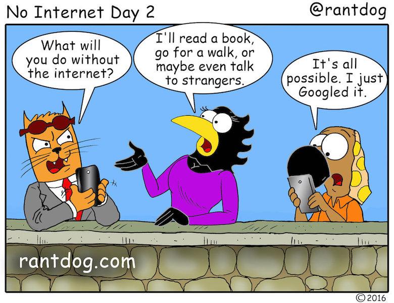 Rantdog Quit Internet