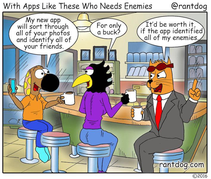Rantdog App Friends