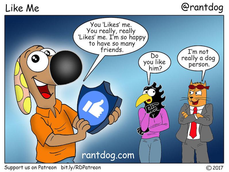 Rantdog Dog person Facebook