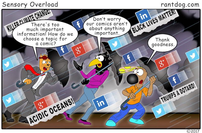 Rantdog Social Media