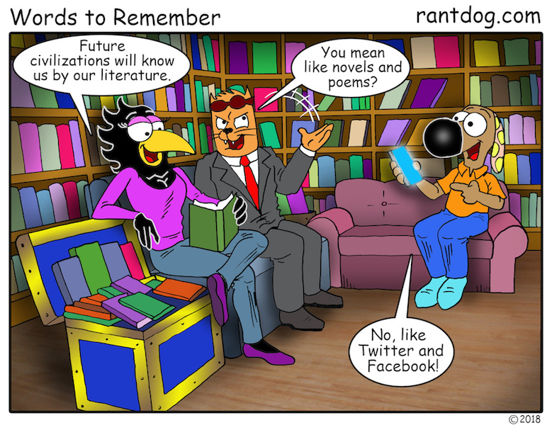 Rantdog Social Media Library