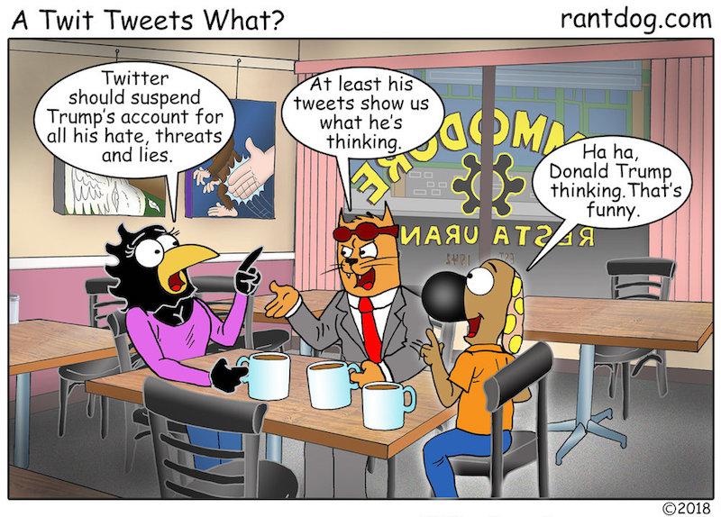 Rantdog Twitter Trump