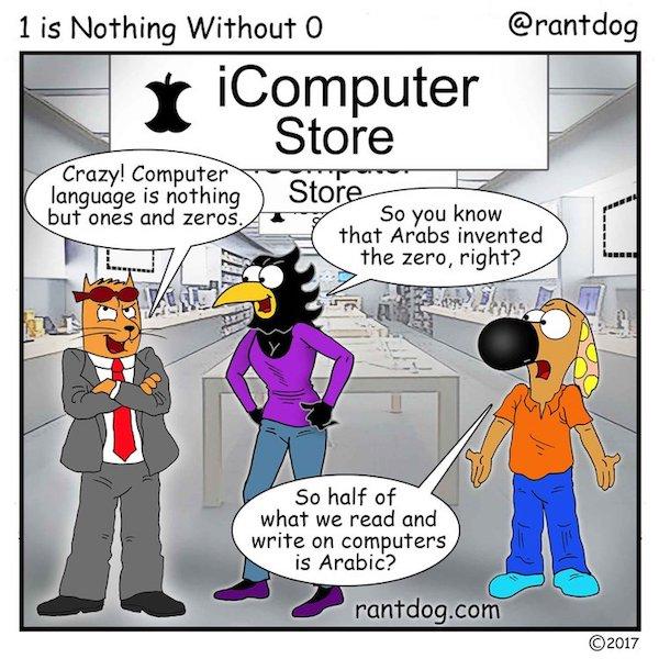 Rantdog Comic Zero Computers
