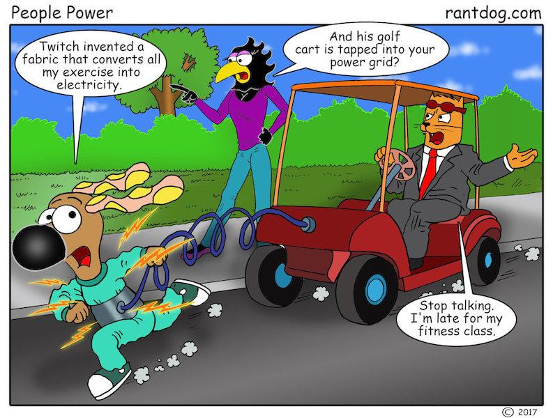 Rantdog Comic Energy Exercise
