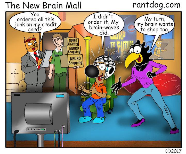 Rantdog Comic Neuro Shopping