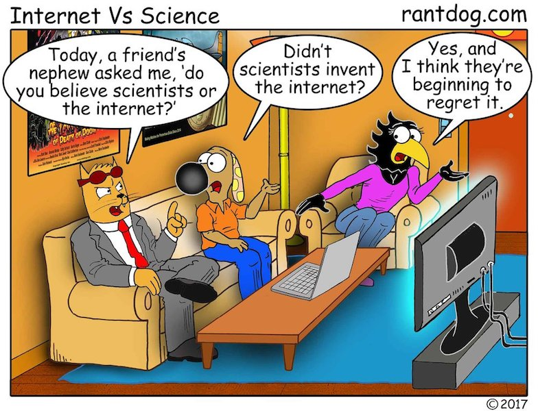 Copy of Rantdog Comic Scientists Internet