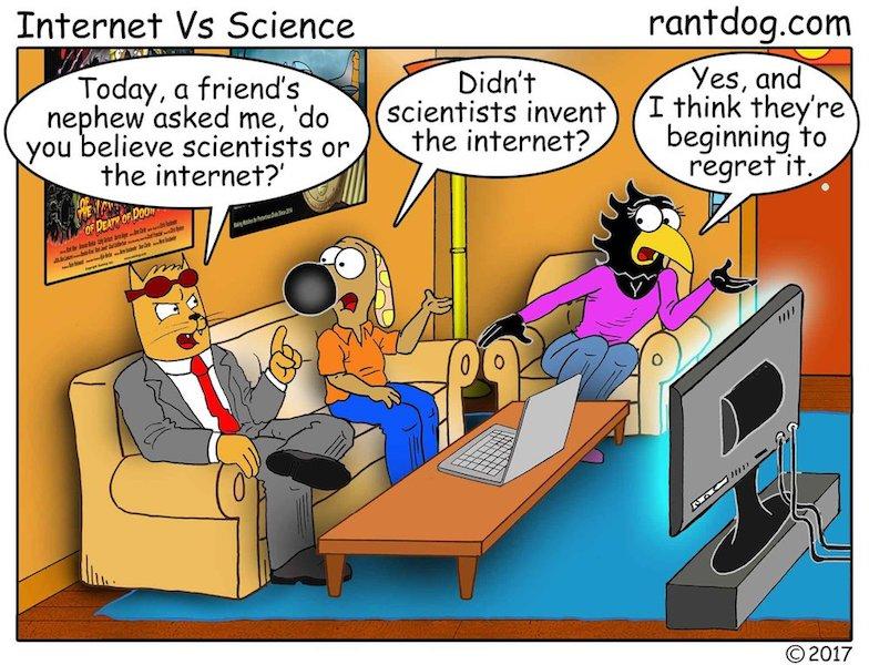 Rantdog Comic Scientists Internet