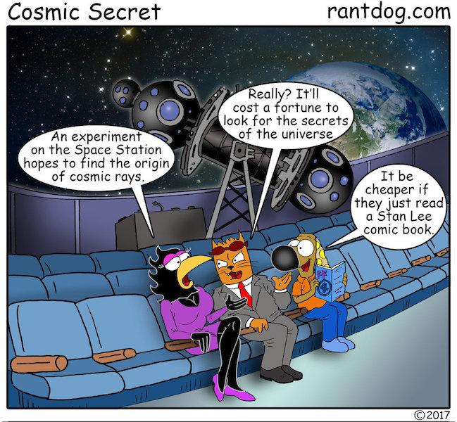 Rantdog Comic Stan Lee Space Station