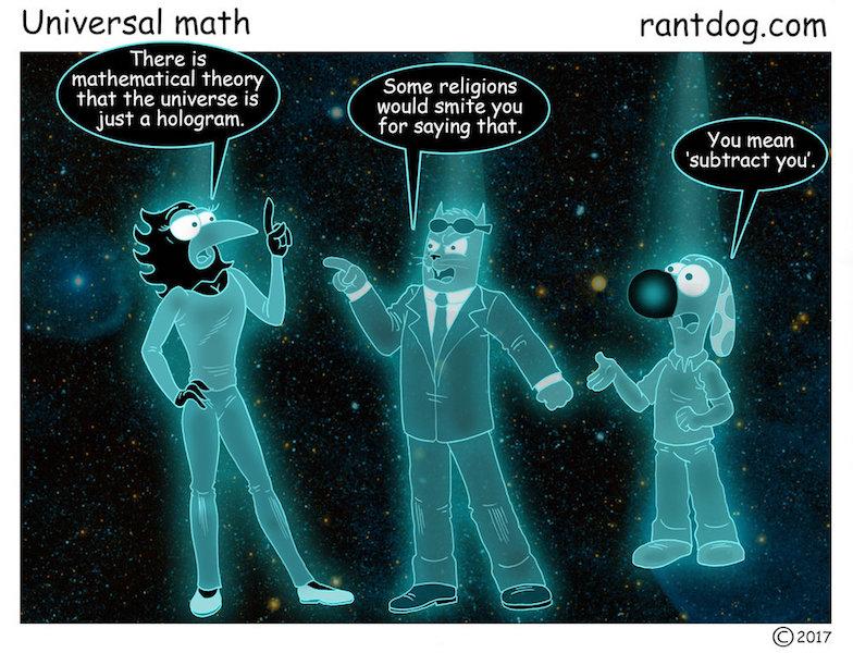 Rantdog Comic Hologram Universe