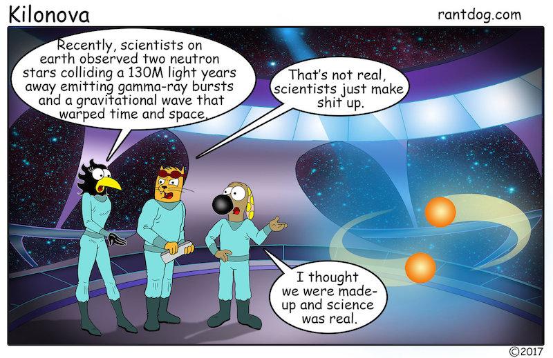 Rantdog Comic Neutron Stars Scientists