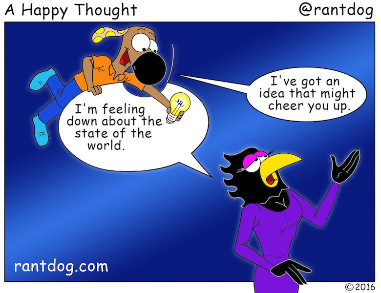 Rantdog Comics State of the world