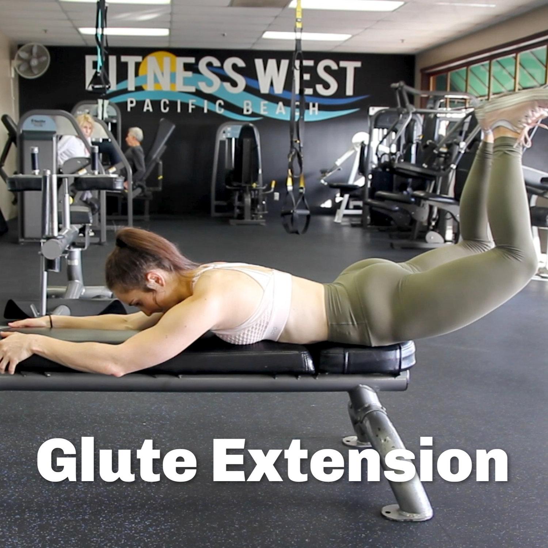 Glute Extension — MARISA CHAELA