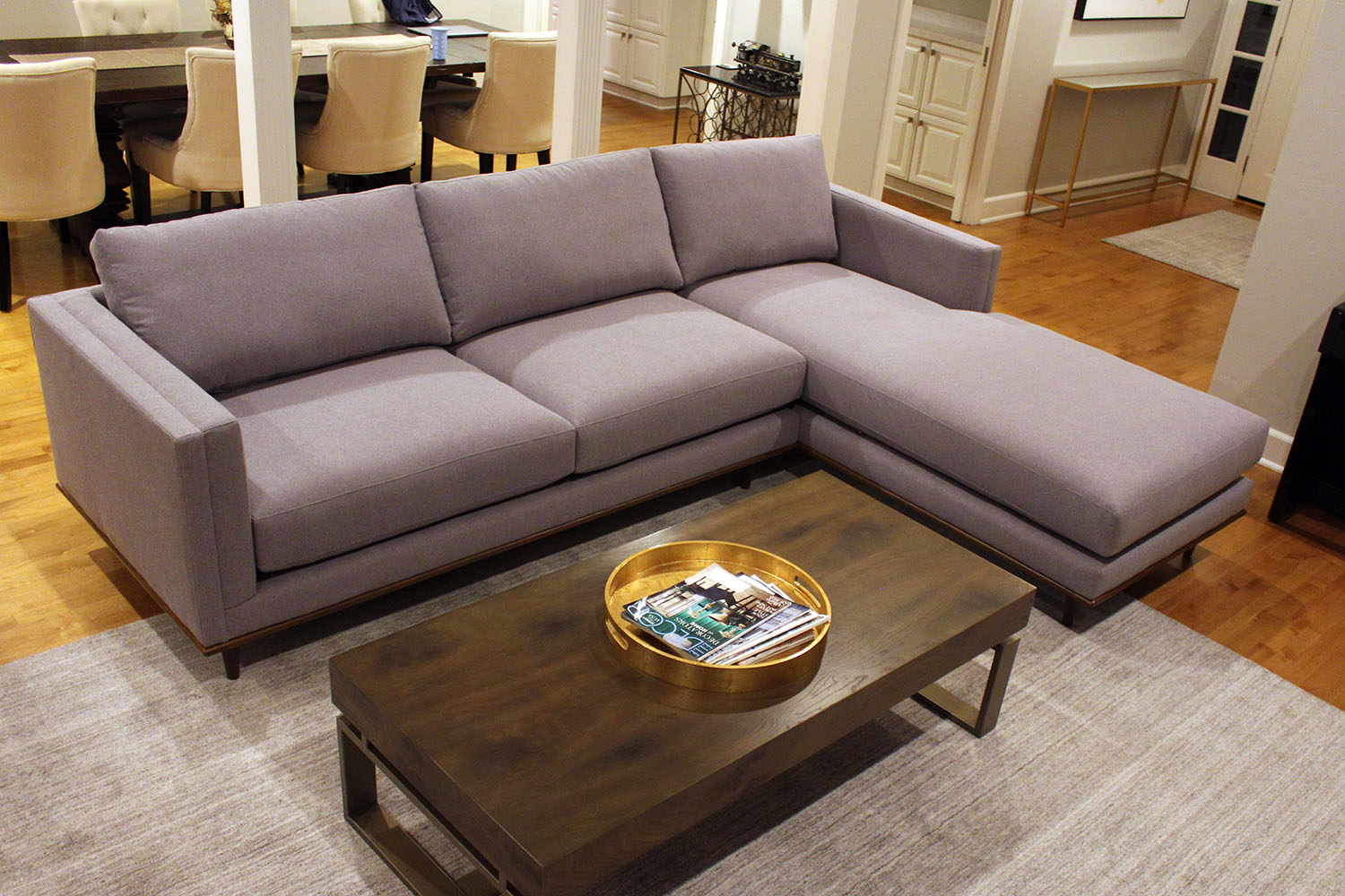 Hyde style sofa chaise furniture envy