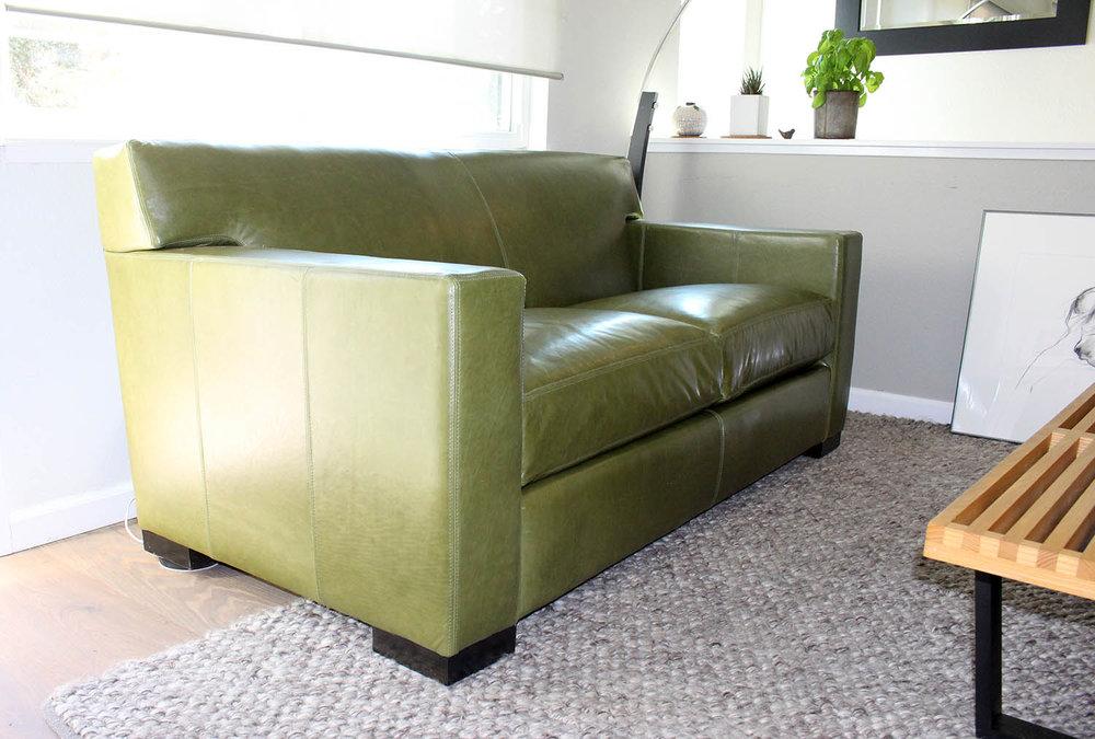 Ian Style - Leather Sofa — Furniture Envy