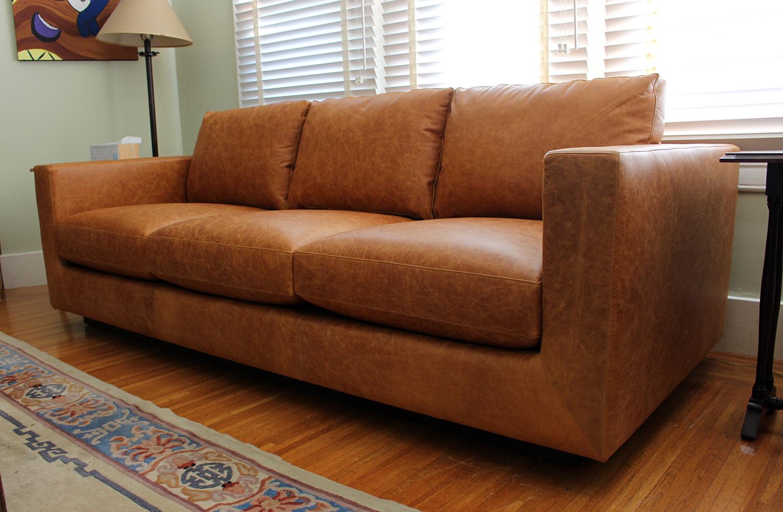 Deep Style - Leather Sofa — Furniture Envy