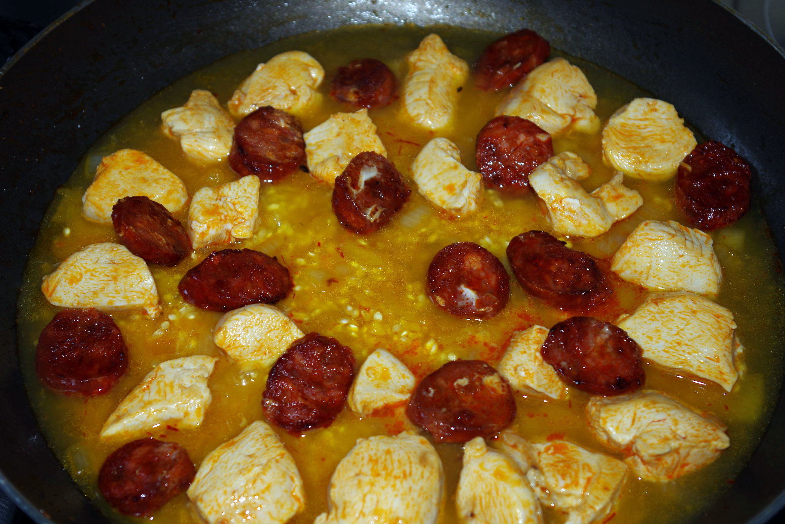 8 Chicken & Chorizo