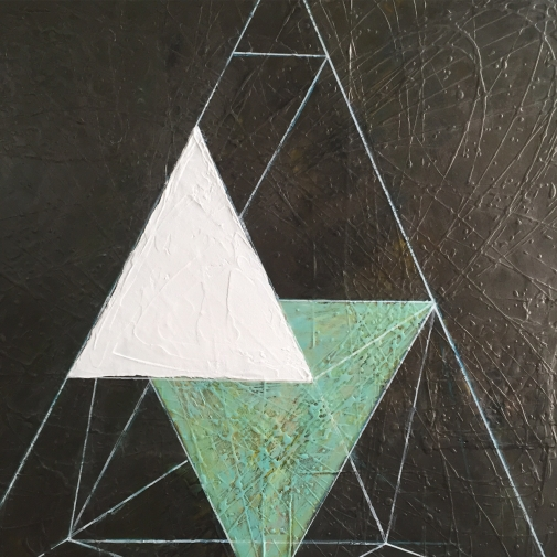 momentum #62, 18x18, acrylics, canvas, 2017