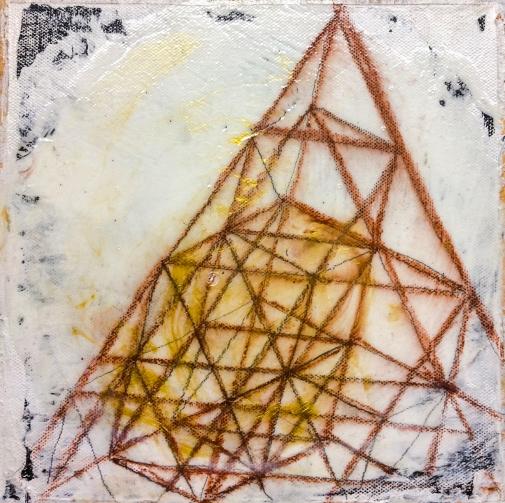 momentum #7, 8x8, acrylics, canvas, 2016