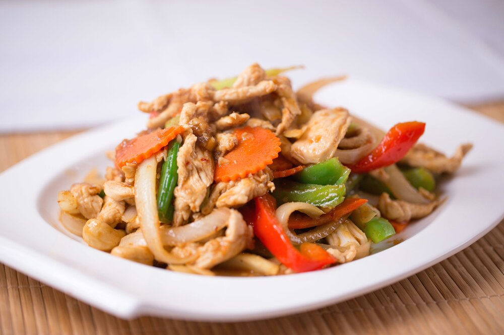 D2. Pad Ma Maung Him Ma Paan (Cashew Nuts)