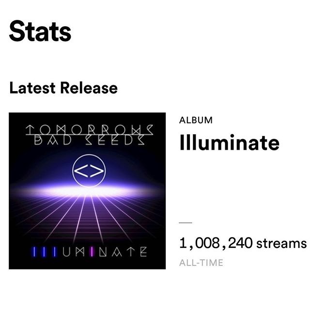 Thank you to all friends keep on spinning the new album we hit a million 🤓 we love you thank you for all the support through out these years ..... #lifeisthemissionloveisthemessage #reggae #music #alllovealways #badseeds #illuminate #chazrox #menchhouserecords #surfrootsradio #gratitude #losangeles #roots #streams #carson #SOUTHBAY #LA