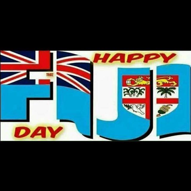 Happy Independence Day to all Fijians throughout the world  #fiji #rememberyourroots #noquviti #noquvanua #noquisakisaki#kaiviti#qaqa #fijiproud #fijiday